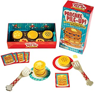 Educational Insights Pancake Pile-Up!, Sequence Relay Game: Preschool Game for Preschoolers & Toddlers, Ages 4+