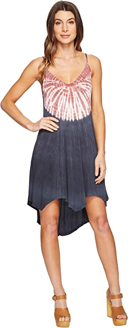 Culture Phit - Kelsee Spaghetti Strap Tie-Dye Dress
