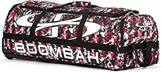 Boombah Brute Camo Rolling Baseball/Softball Bat Bag - 35