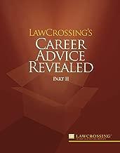 LawCrossing's Career Advice Revealed Part II