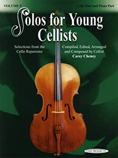 Solos for Young Cellists, Volume 5
