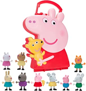 Peppa Pigs Carry Along Friends (Includes 10 Figures)