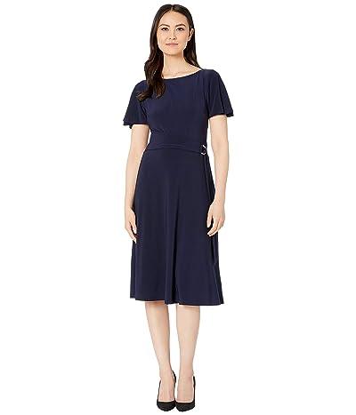 LAUREN Ralph Lauren Jacquineta Dress (Lighthouse Navy) Women