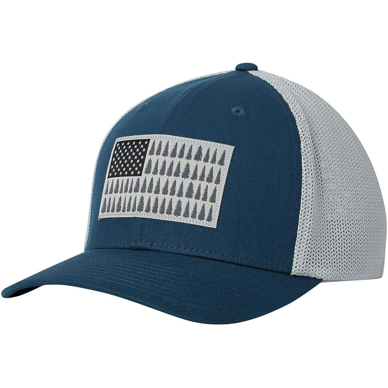 [コロンビア] メンズ 帽子 Mesh Tree Flag Trucker Hat [並行輸入品]