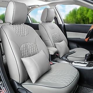 Auto decorun Custom Fit asiento de coche cubierta sets para Dodge Caliber Avenger Challenger Journey cojín
