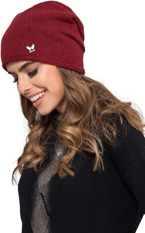 verschiedene Farbauswahl Kamea Winterset f/ür Damen Kalifornia 2-Teilig bestehend aus Loop-Schal und Winterm/ütze Damenschal als Winter-Schal
