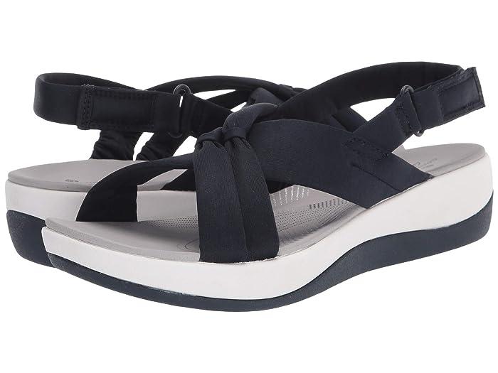 Clarks  Arla Belle (Navy Textile) Womens Shoes