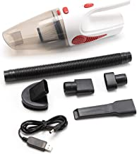 Portable Handheld Vacuum Cleaner, Cordless/Car Plug, 120 W, 12 V, 5000 Pa, Super Vacuum Cleaner, Wet/Dry Vacuum Cleaner fo...