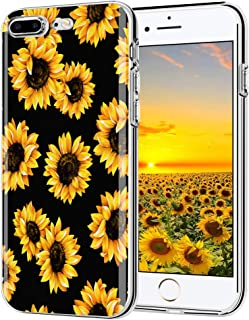 iPhone 6 Plus case, iPhone 6s Plus case, AIKIN Simply Designed Flower Pattern Case Soft TPU Flexible Case Shockproof Protective Cute Case for iPhone 6s Plus, iPhone 6 Plus 5.5