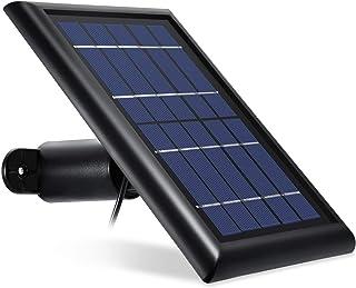 [Updated Version] Wasserstein Arlo Solar Panel Compatible with Arlo Pro, Pro 2, GO & Light (Black)