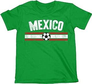 buzz shirts NIÑOS O NIÑAS Mexico Distressed Country FÚTBOL Camiseta Copa Mundial 2018 Kids Sports