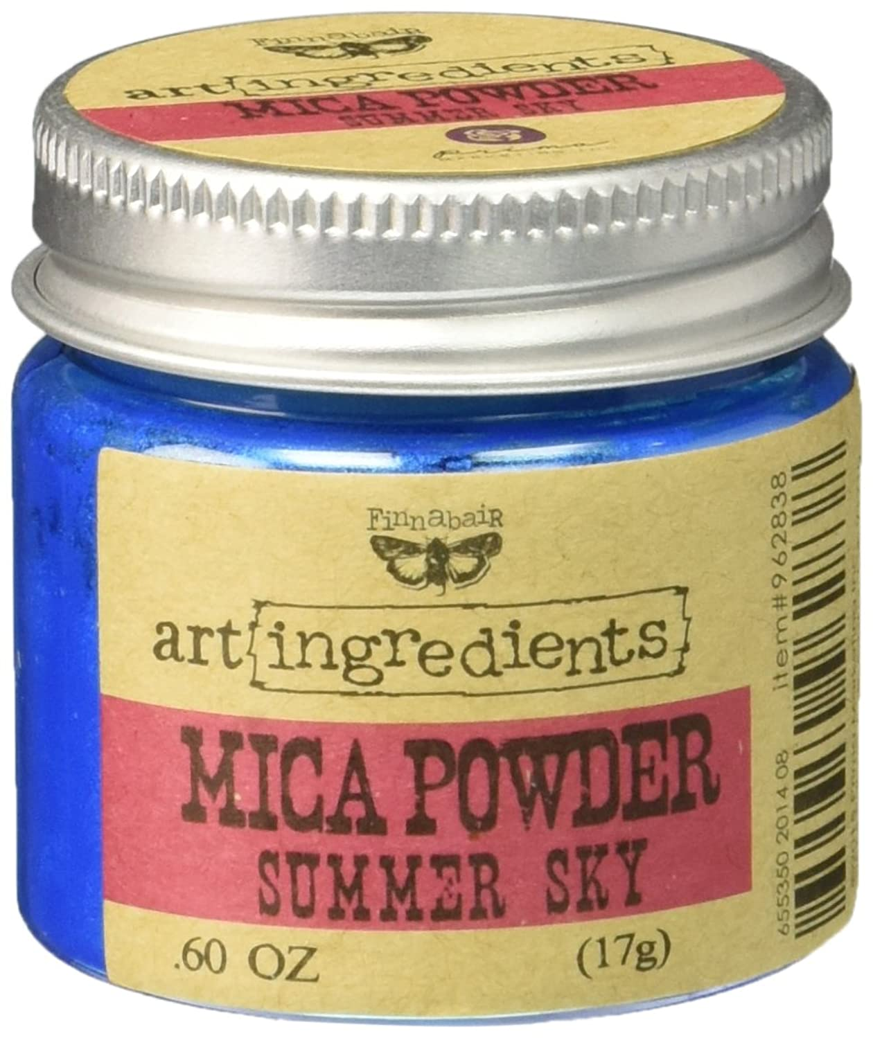 Prima Marketing 962838 Finnabair Art Ingredients Mica Powder, 0.6 oz, Summer Sky