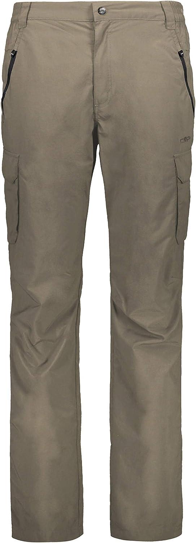 CMP Herren Lange Trekking Hose Mit Beintaschen 30t6167 - Pantalones Hombre