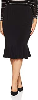 My Size Women's Plus Size The Flip Skirt