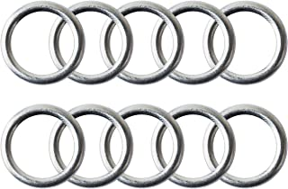 M14 Oil Drain Plug Gaskets Crush Washers Seals Rings for Audi A3 A4 A5 A6 A7 A8 Q3 Q5 Q7 TT RS7 VW Jetta Passat Tiguan Golf CC, Replacement for the Part # N 013 815 7, Used for Oil Change, 10 Pack