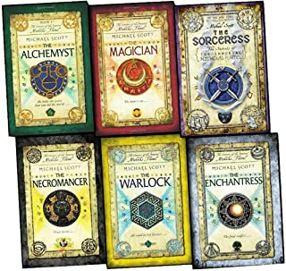 Michael Scott The Secrets Of The Immortal Nicholas Flamel 6 Books Collection ( The Alchemyst, The Magician, The Sorceress,...