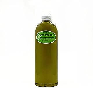 Hemp Seed Oil Organic Pure 16 Oz/ 1 Pint