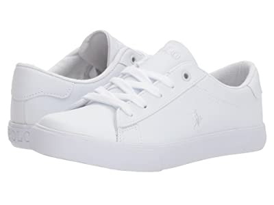 Polo Ralph Lauren Kids Easten (Little Kid) (Triple White Tumbled) Kid