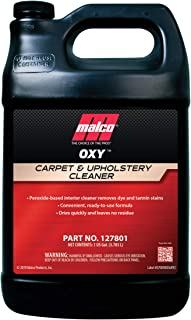 Malco OXY Carpet & Upholstery Cleaner, Stain Remover for Car Interior Fabric, Liquid Formula, 1 Gallon (127801)