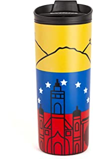 costablue venezuela vacuum insulated stainless steel 16 ounces  travel mug easy to clean and leak proof lid colors of the ...
