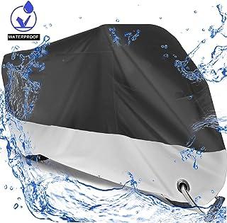 Capa de motocicleta à prova d'água Big Ant, capa respirável para motos de neve para motos de até 274,94 cm (2GG e fechaduras)