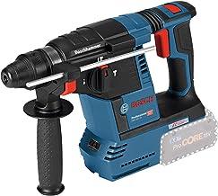 Bosch Professional GBH 18V-26 Martillo perforador combinado, 2,6 J, diámetro máximo hormigón 26 mm, SDS plus, sin batería, en caja, 18 V, Azul