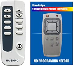 Replacment for Sharp Air Conditioner Remote Control 9JM203355091093 for AF-Q100PX AF-Q120PX AF-Q60PX AF-Q80PX AF-S100PX AF-S100RX AF-S120PX AF-S120RX AF-S125PX AF-S125RX AF-S60PX AF-S60RX AF-S80PX