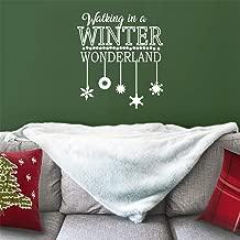 Vinyl Wall Art Decal - Walking in A Winter Wonderland - 26