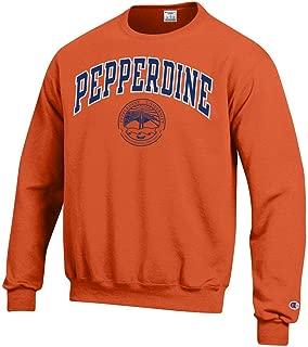 Pepperdine University Crew Neck Sweatshirt-Orange