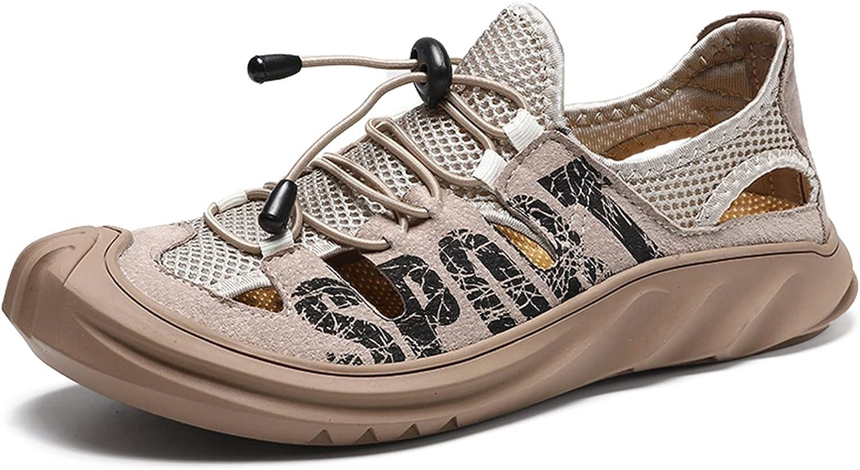 sandals for men Cheap mail order shopping Men's Sport Locks No wholesale Tie elastic Shoelac