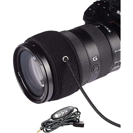 結露 防止 レンズ ヒーター 夜露 除去 USB ウォーマー 3段階調節 温度コントローラー 付き 温度コントローラー 付き レンズ霜よけ 巻きつけ型 望遠鏡、カメラのデジタル一眼レフレンズ、 望遠鏡の接眼レンズまたは他の装置のための露ヒーターのストリップ