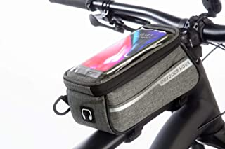 Bike phone holder bag - Can transition into a fanny pack or crossbody bag -Sensitive touchscreen - Water resistant- Top tu...