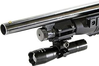 Trinity 1200 lumen led strobe flashlight kit for remington 870 12ga pump home defense tactical hunting optics aluminum black picatinny weaver mounted adapter single rail mount
