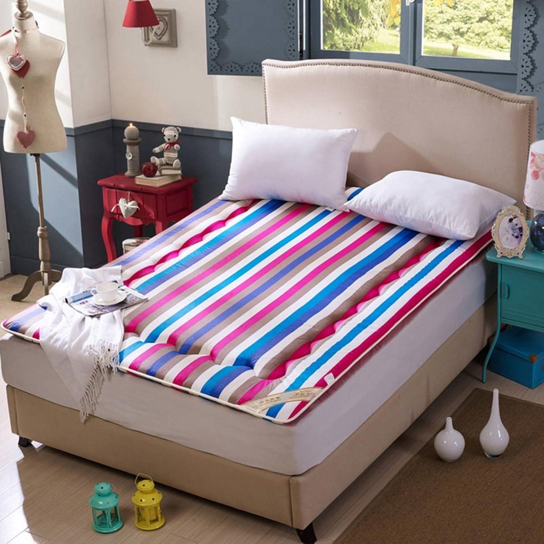Full cotton padded mattress mattress student dormitory mattresses double matt mat-C 90x190cm(35x75inch)