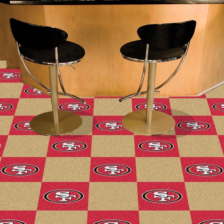 Fanmats 08570 Nfl  San Francisco 49Ers Carpet Tiles
