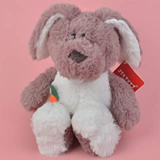 Plush toys, Dark Grey Color Rabbit Plush Toy, 30cm Baby Gift Kids Soft Toy Wholesale,plush toys for kids Not afraid of squ...