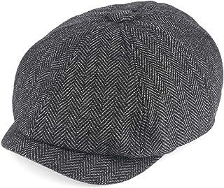 قبعة نيوزبوي للرجال كلاسيك هيرينجبون نيوزبوي آيفي قبعة عام 1920 من إكسسوارات زي جاتسبي للرجال