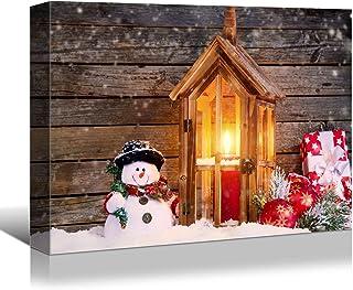 Amazon Com Christmas Art On Canvas