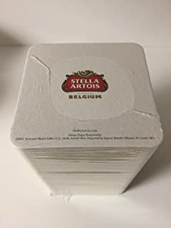 "Stella Artois""The Butcher, The Baker, The Belgian Beer Maker"" Bar Coasters - 125 Pack"