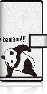 CaseMarket Amazon.co.jp 【手帳式】 CaseMarket AQUOS ZETA (SH-01G) スリム ケース [ バンブー パンダ 笹食ってる場合じゃねぇ!  ]  SH-01G-VCM2D2041