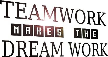 Best team work is dream work Reviews