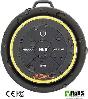 iFox iF012 Bluetooth Shower Speaker – Certified Waterproof – Wireless It..