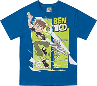 Camiseta em Meia Malha Ben 10, Fakini