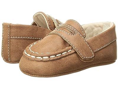 Baby Deer Burnished Loafer Waddle (Infant) (Brown) Boys Shoes