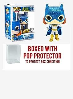 Funko Pop! Disney: Diamond Collection Batgirl #148 Exclusive Collectible Vinyl Figure (Bundled with Pop Box Protector Case)