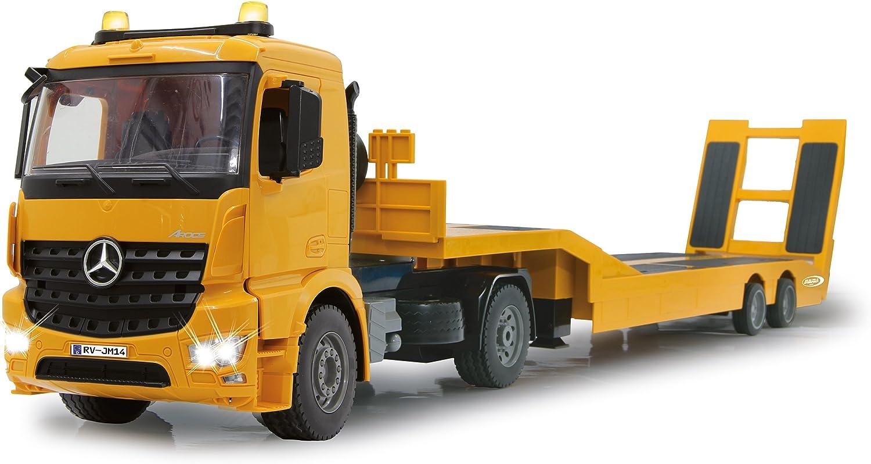 Jamara 405107 1 20 Scale 2.4 GHz Mercedes Arocs Flat Bed Truck