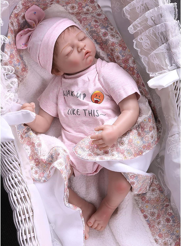 YANRU Baby Doll Silicone 51cm Babys That Look Portland Mall Th Soft to Under blast sales Real -