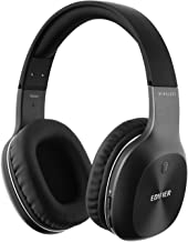 Edifier W800BT Bluetooth Headphones - Over-The-Ear Wireless Headphone, 50 Hours Extended Playback, Lightweight - Black