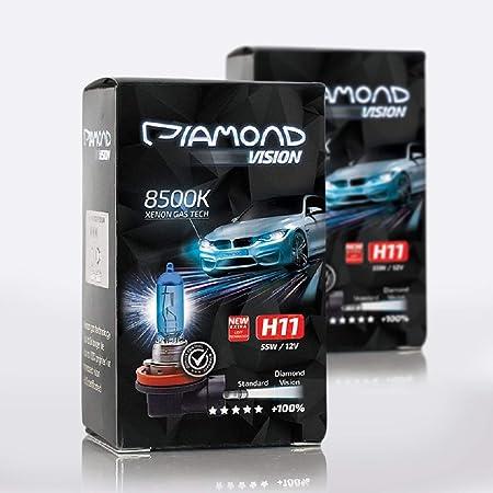 4 X H11 Birnen Pgj19 2 Halogen Lampe 6000k 55w Xenon Glühbirne 12v Auto