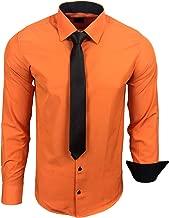Amazon.es: camisas hombre - Naranja